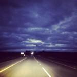 Driving into Plett